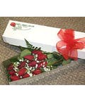 Dozen Red Roses-Boxed