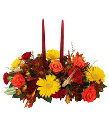 Autumn Ambiance Centerpiece