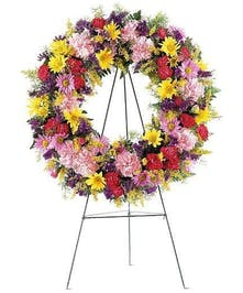 24 inch Funeral Wreath