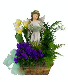 Angel's Bliss Garden Basket