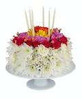 Beautiful Birthday Floral Cake