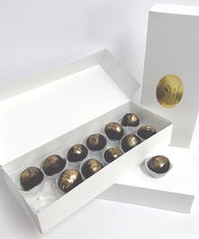 Bourbon Ball Truffles
