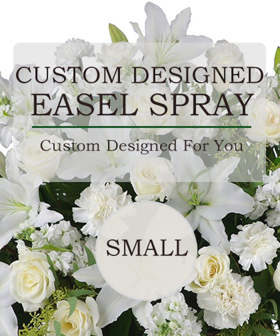 Custom Design Easel Spray A Custom Traditional Easel Spray Same