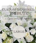 Custom Design Sympathy Tribute (Large)