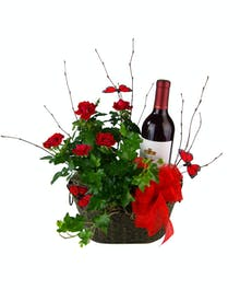 Jardin Rouge Roses & Ivy