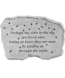 Perhaps the stars in the sky...