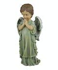 Praying Boy Angel ~ white
