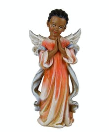 Praying Girl Angel ~ black