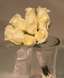 Rose Hand Tied Bouquet