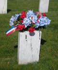 Patriotic Cemetery Saddle