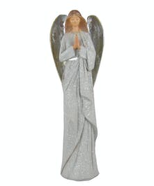 Shimmer Wings Praying Angel