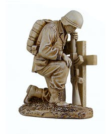 Soldier at Cross figure
