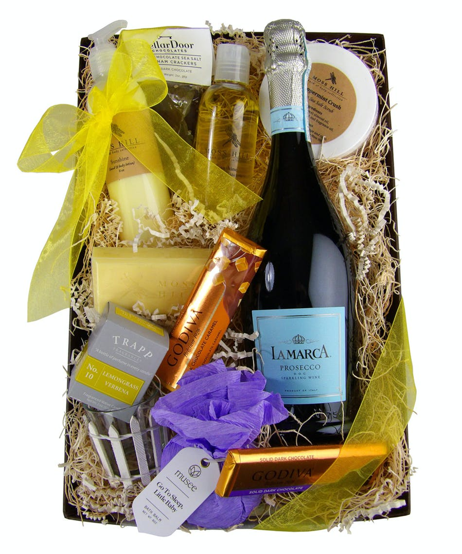 Sunshine & Bubbly Gift Box - Same Day Louisville KY Flower Delivery ...