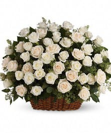 Express your deepest condolences with this basket