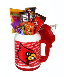 U of L Jumbo Thermos with Candy