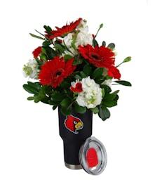 U of L Team Tumbler Bouquet