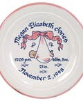 Traditional Birth Plate