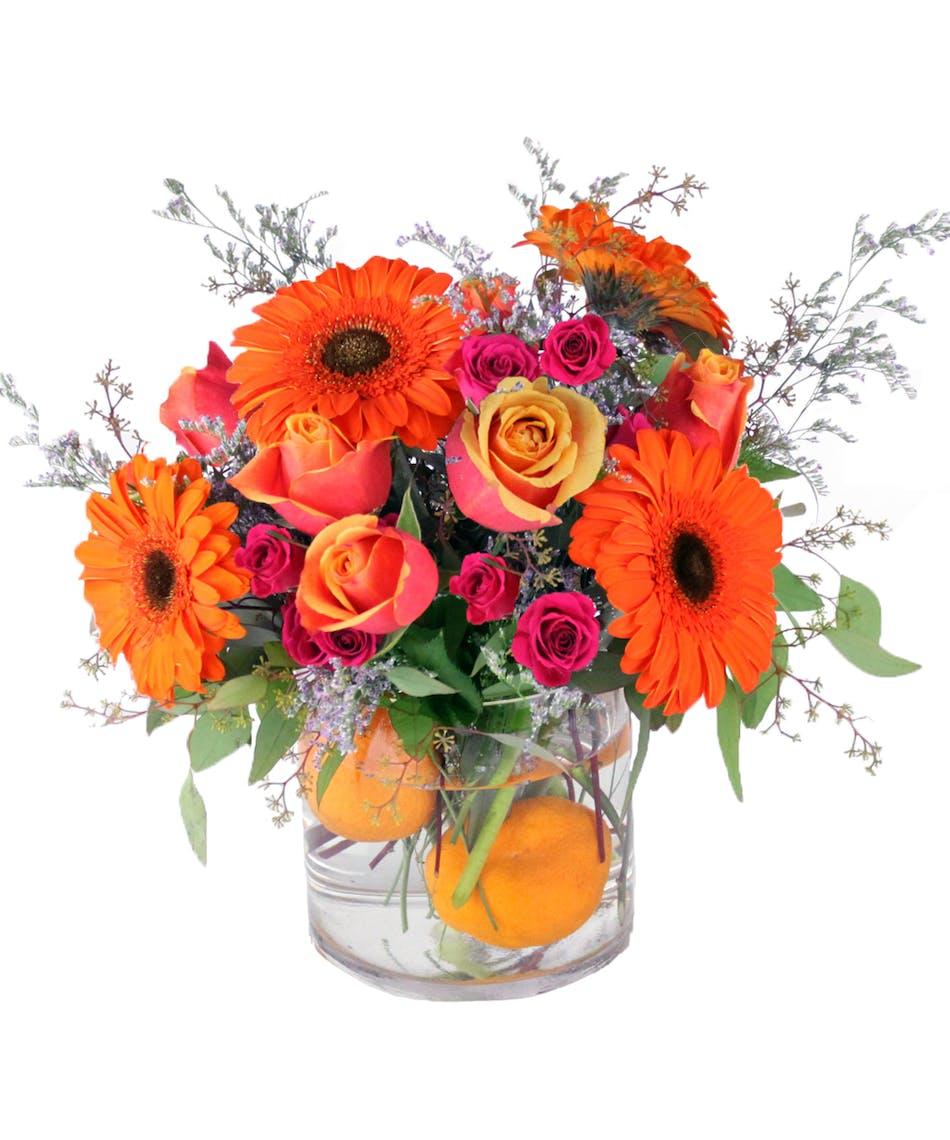 Orange Crush Same Day Louisville Ky Flower Delivery Nanz Kraft