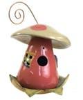 Komen Mushroom Birdhouse