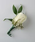 Rose Boutonniere w/ filler