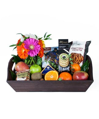Fruit And Flowers Gift Box