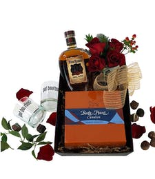 Four Roses Bourbon Gift Box