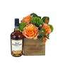 Flowers and Old Forester